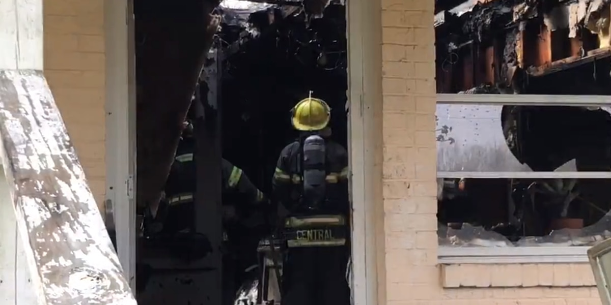 VIDEO: Vancleave home destroyed by fire