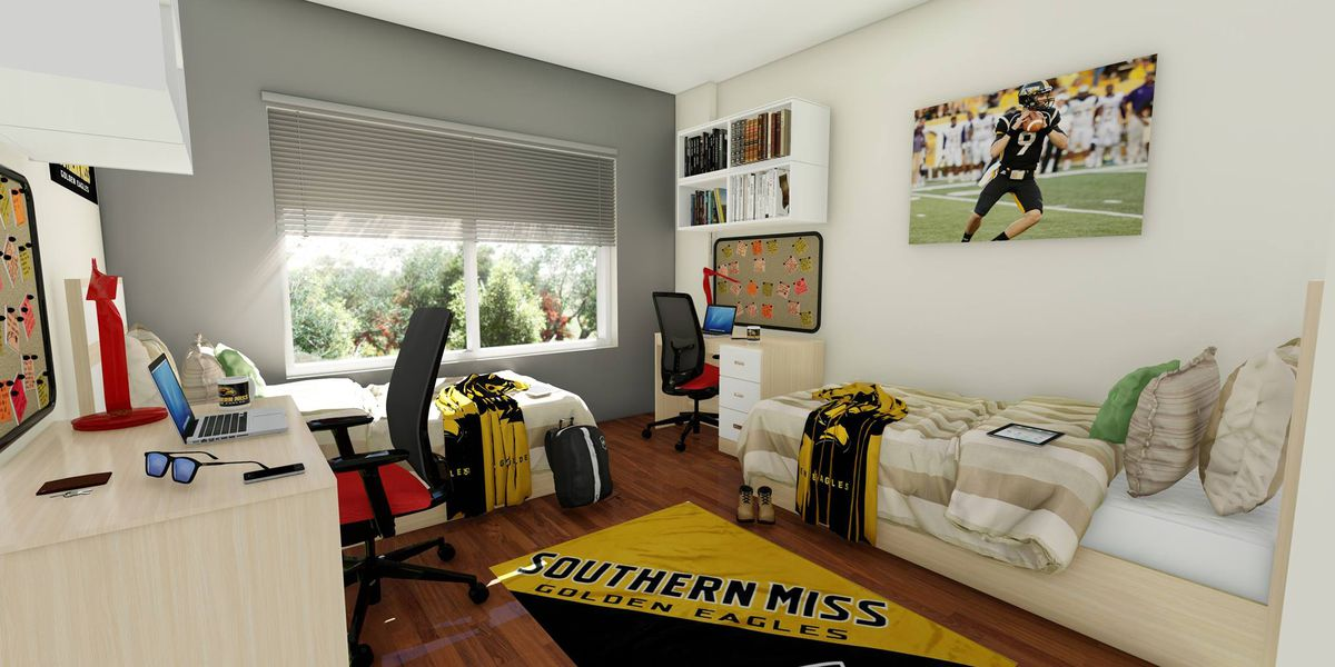 USM Gulf Park students settle into new student housing