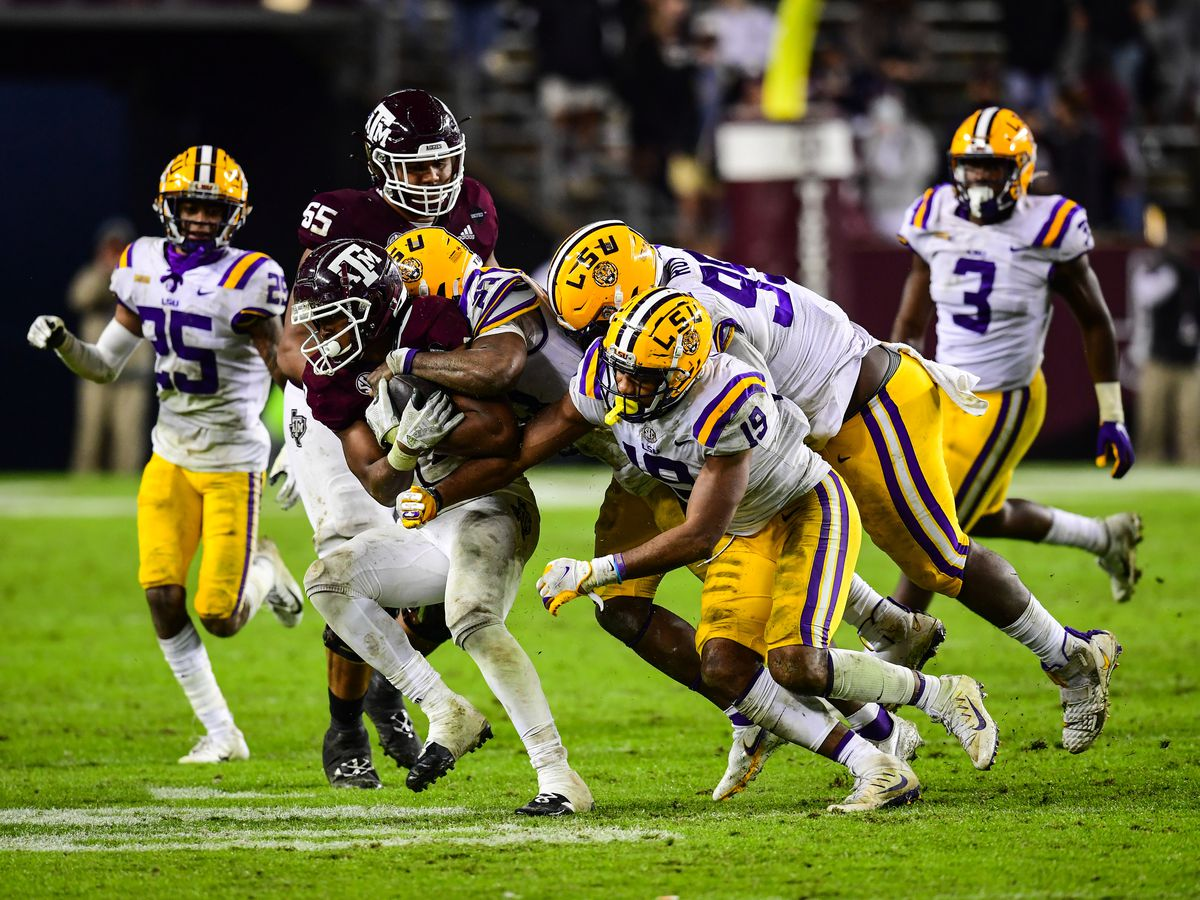LSU drops 'inconsistent' game against Texas A&M