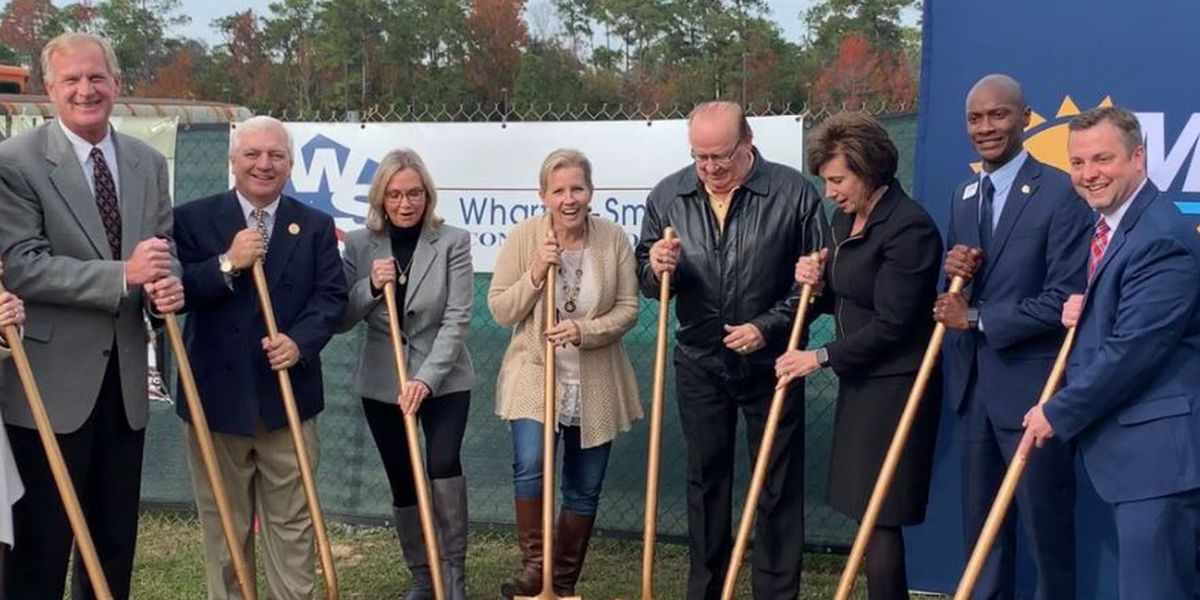 Groundbreaking ceremony at MGCCC Jefferson Davis