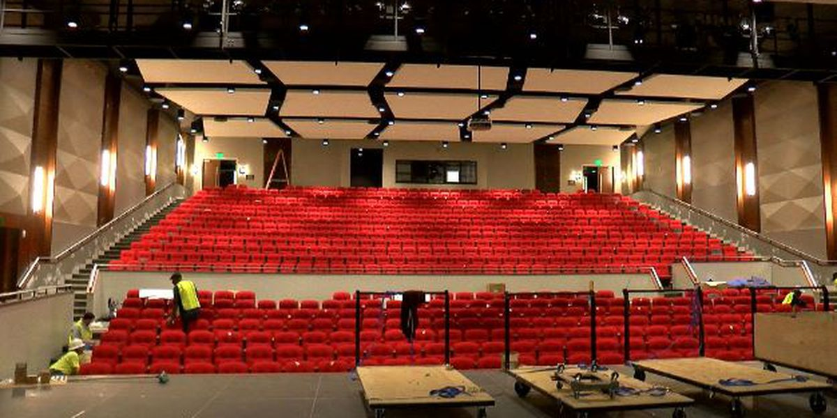 Pascagoula High School Performing Arts Center nearing completion