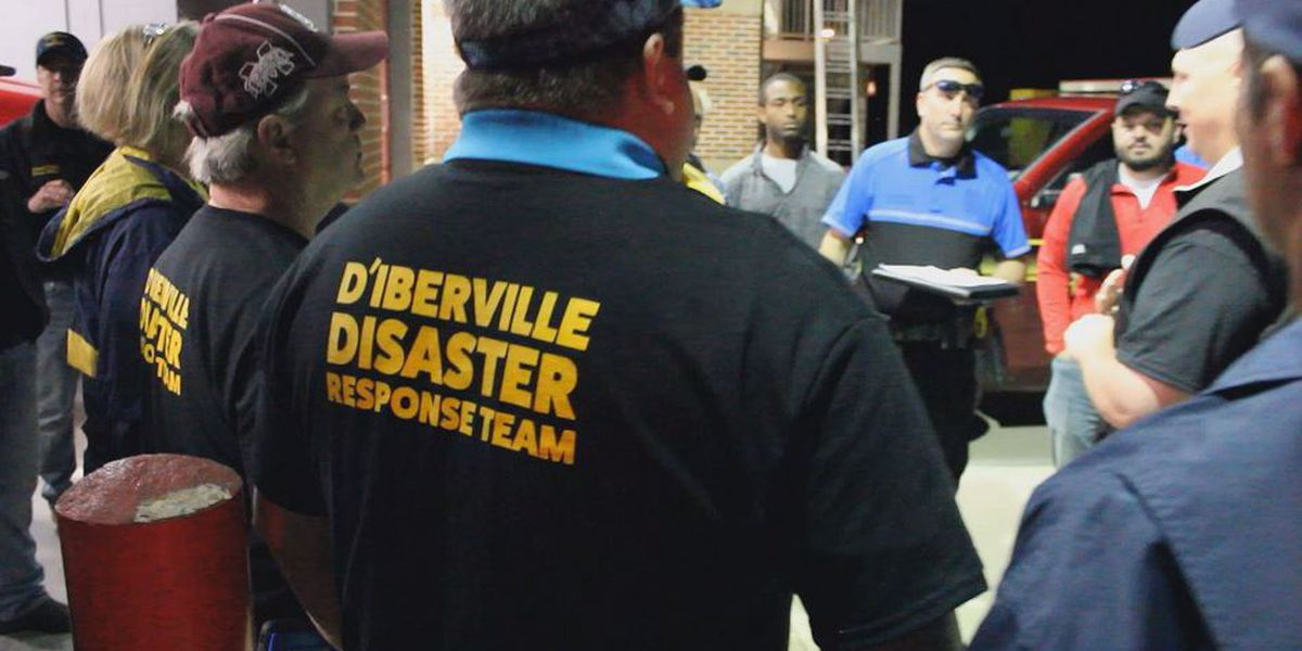 Relief headed to Florida from D'Iberville