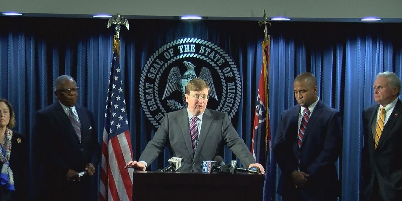 Governor Tate Reeves discusses next steps for MDOC