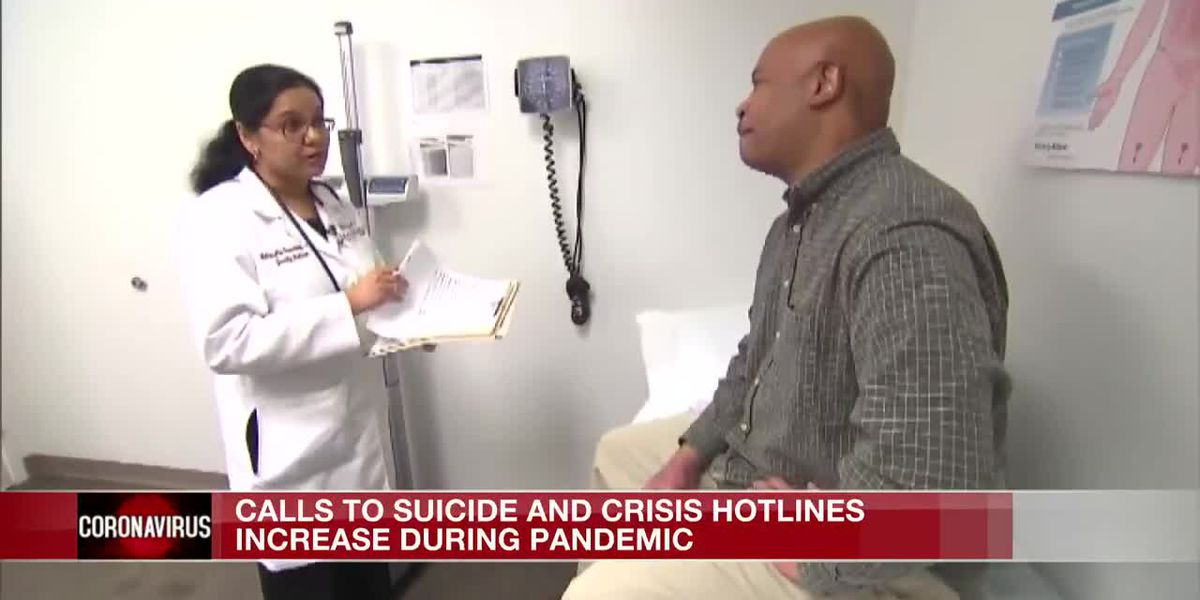 Calls to suicide and crisis hotlines increase during pandemic
