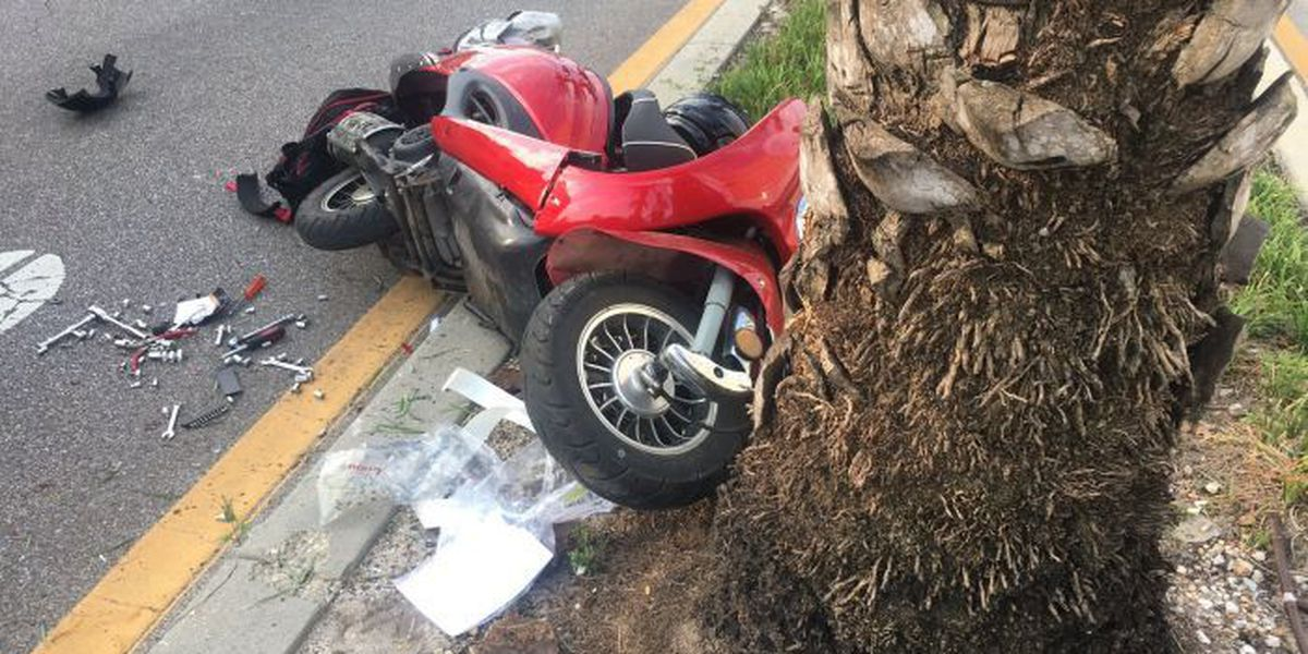 Moped accident temporarily closes Highway 49