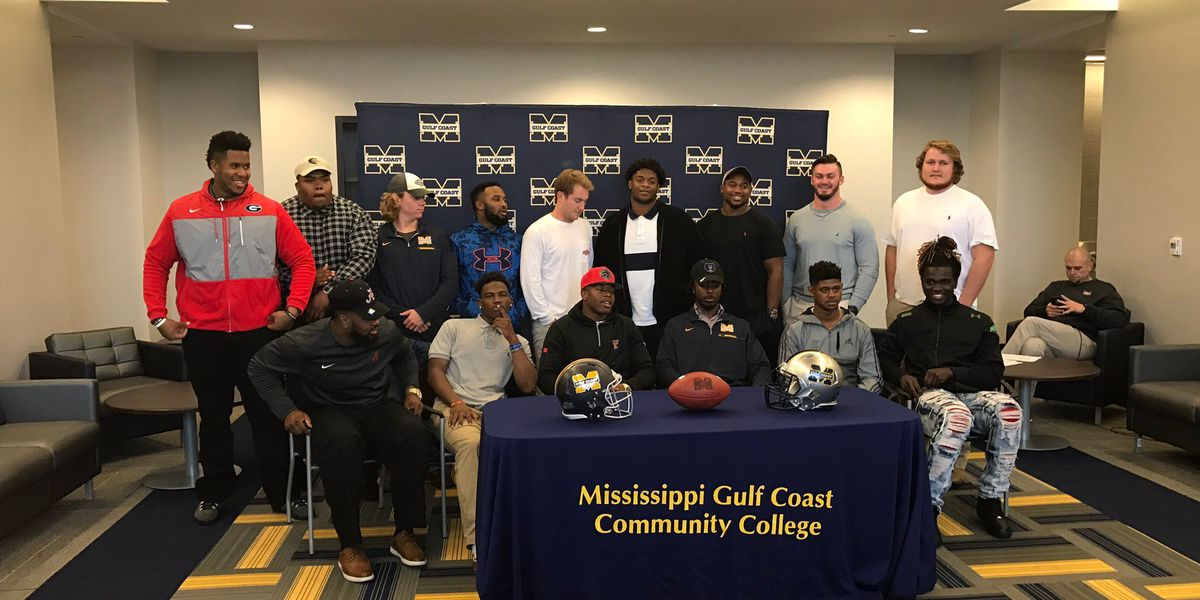 In the Blue: 14 MGCCC players sign with four-year universities Wednesday