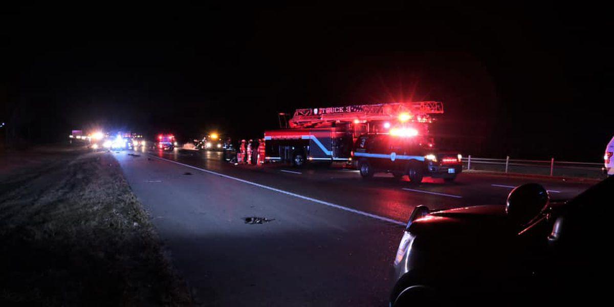 Two dead in fatal crash on I-10 in Harrison County