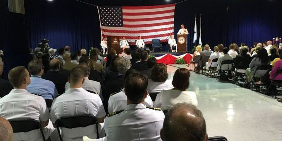 Naval Meteorology and Oceanography Command welcomes new commander