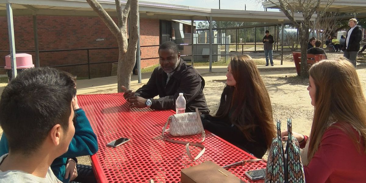 Harrison Central HS principal serves as role model to all students