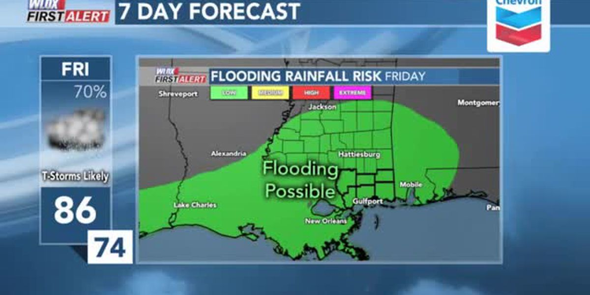 FORECAST VIDEO: Heavy rain threatens our weekend