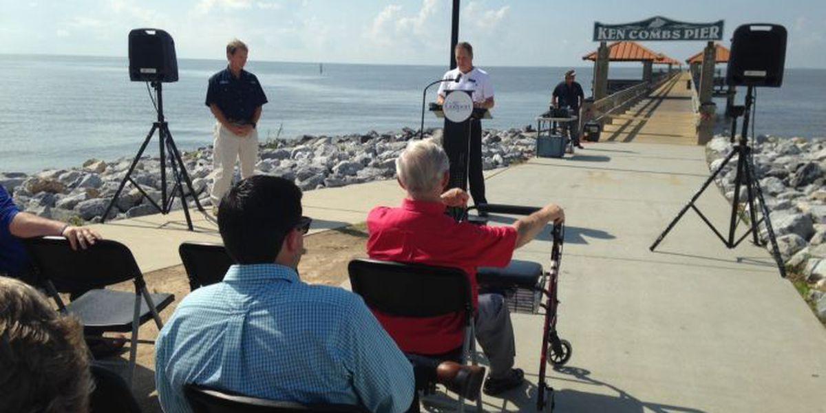 Ken Combs Pier reopens, Gulfport celebrates