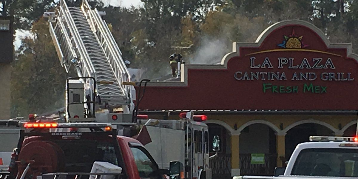 Large fire engulfs Mexican restaurant