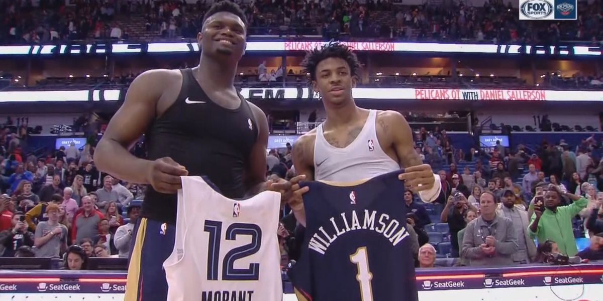 Zion scores career-high, leads Pelicans to win against former AAU teammate Ja Morant