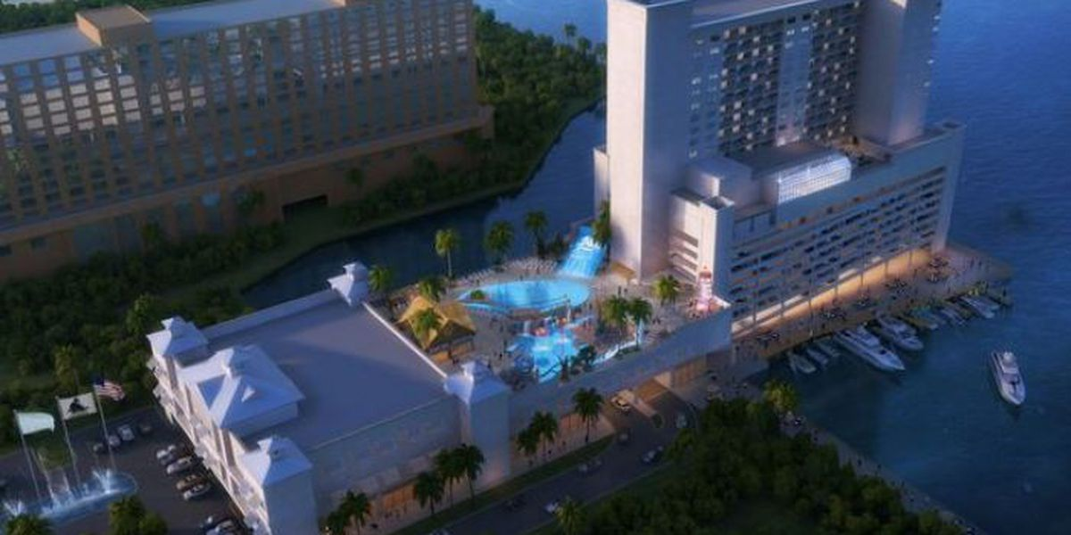 Hotel Water Park Coming To Old Casino Magic Property