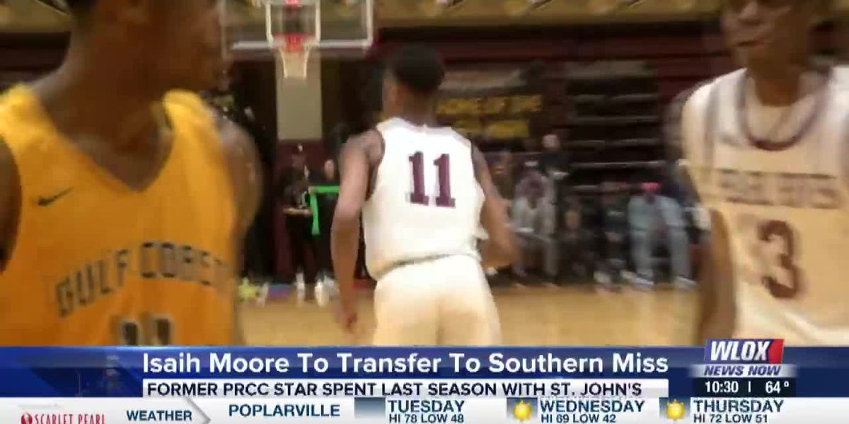 Isaih Moore to transfer to Southern Miss