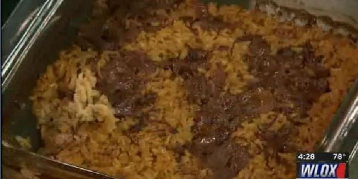 Recipe: French onion rice