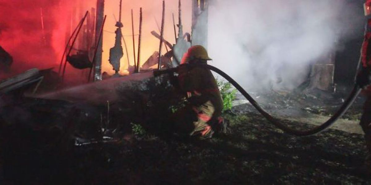 Lightning sparks two fires in Harrison County