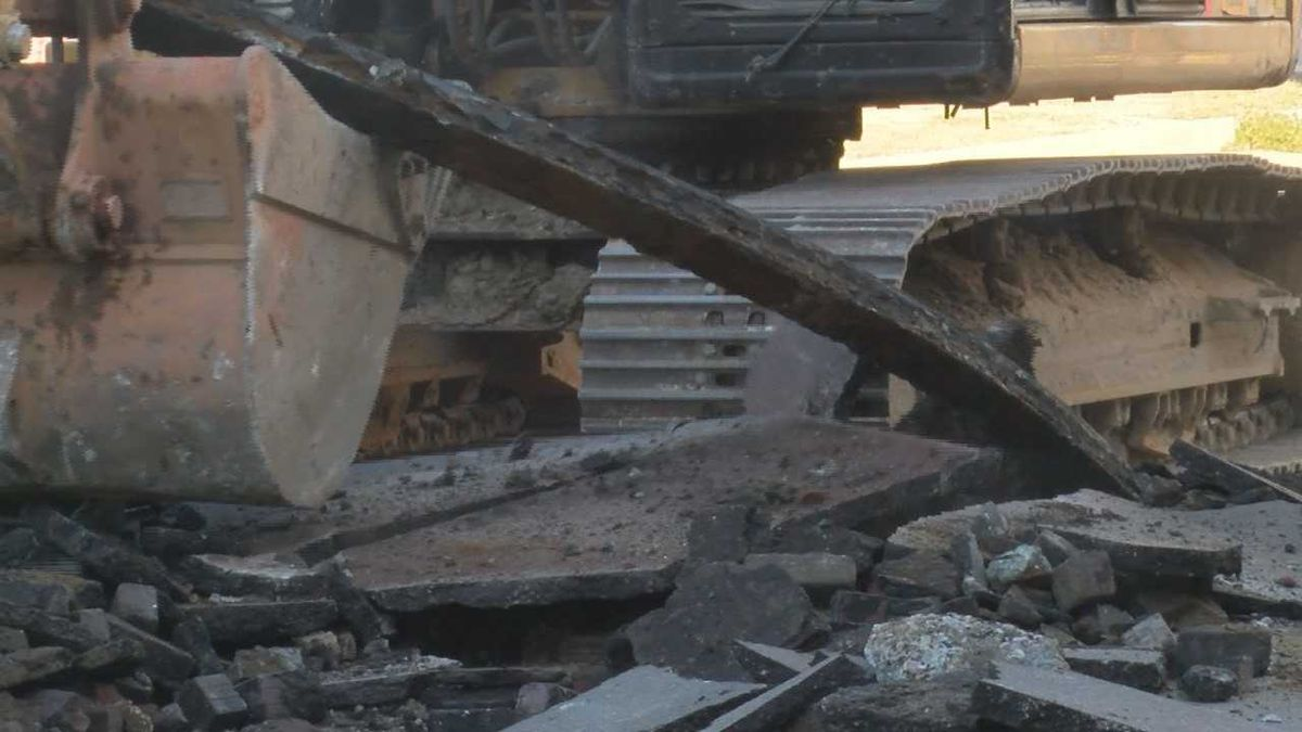 Piece of Biloxi history uncovered under Howard Ave.