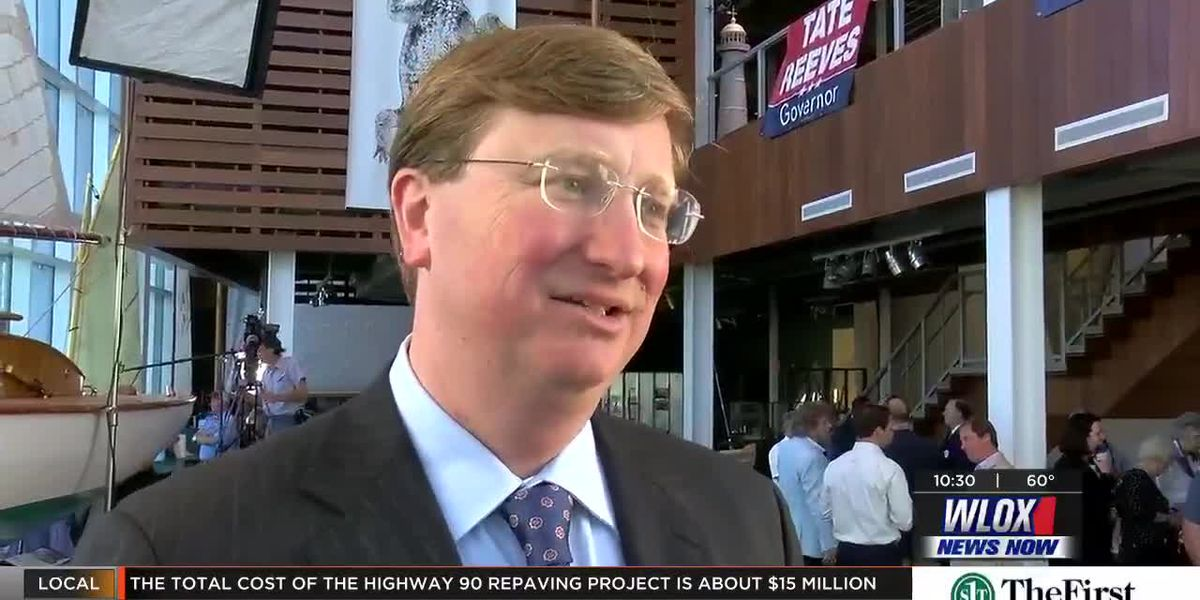 Tate Reeves talks teacher pay raises, national politics as he campaigns for governor