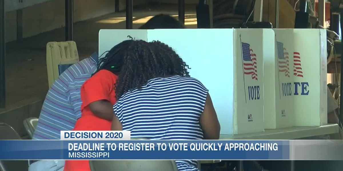 Time is ticking on voter registration for 2020 general election