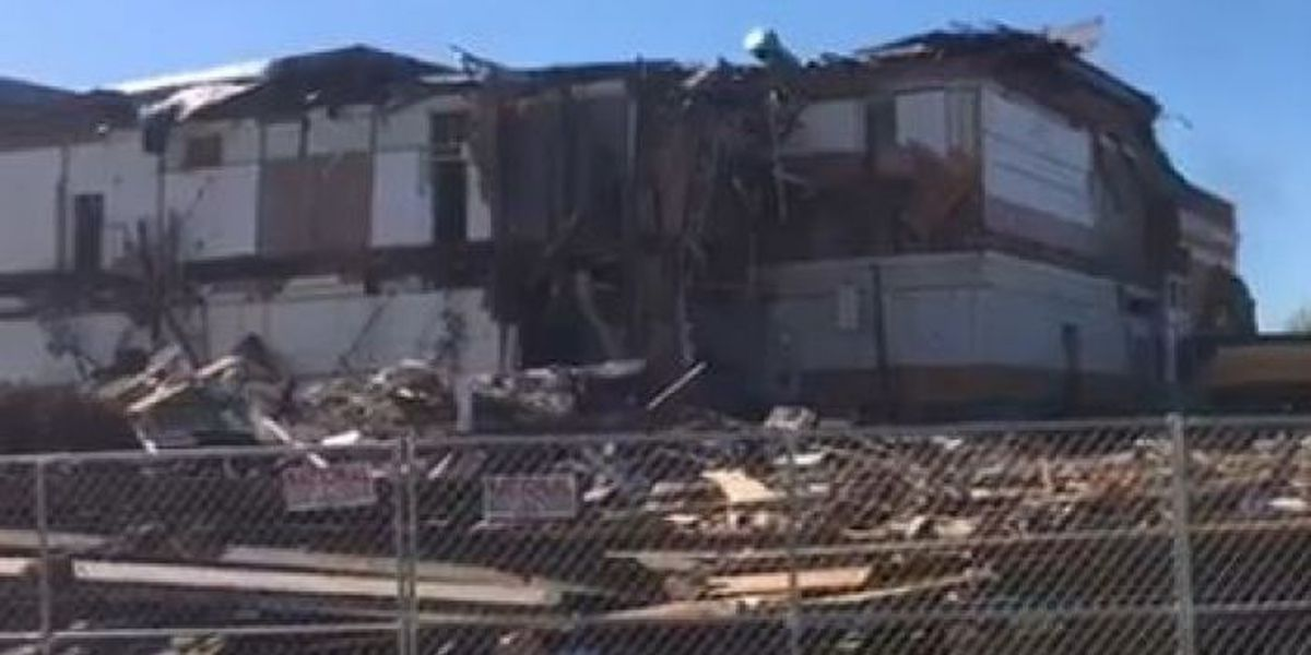 Century-old building torn down on William Carey campus
