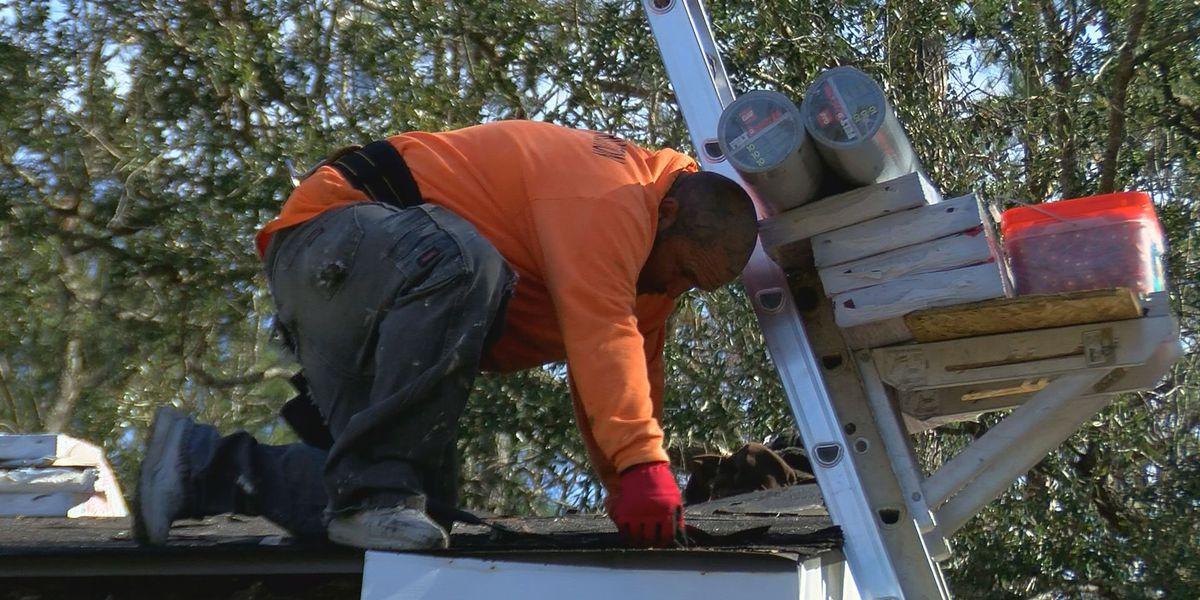 Roof repair crews still hyper-busy since Hurricane Zeta