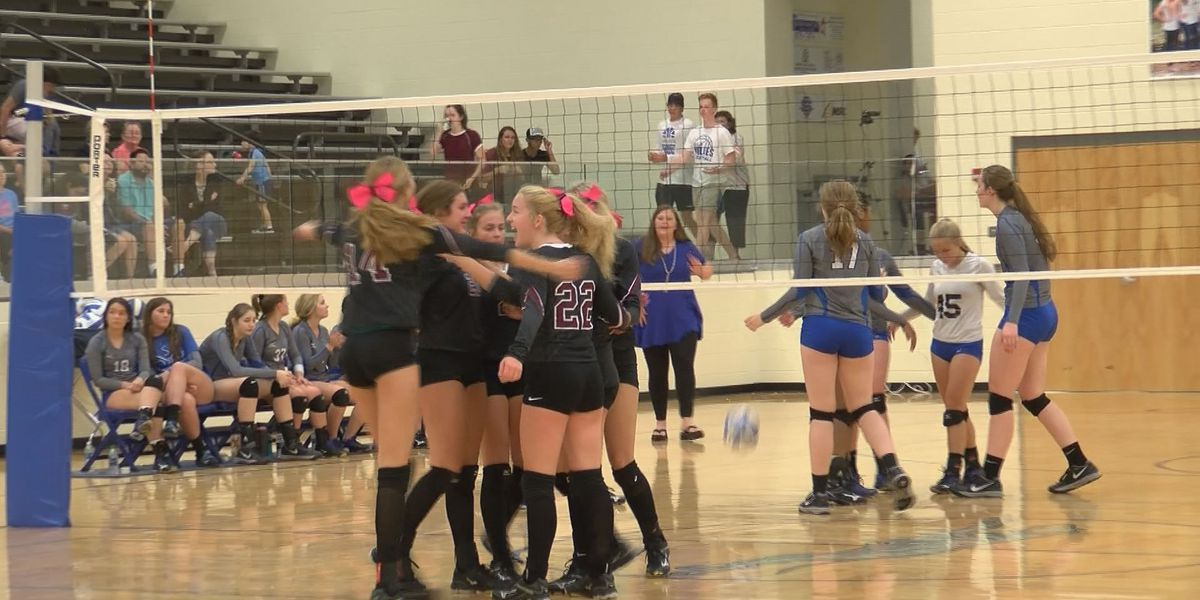 OLA defeated Ocean Springs 3 sets to 1 in high school volleyball