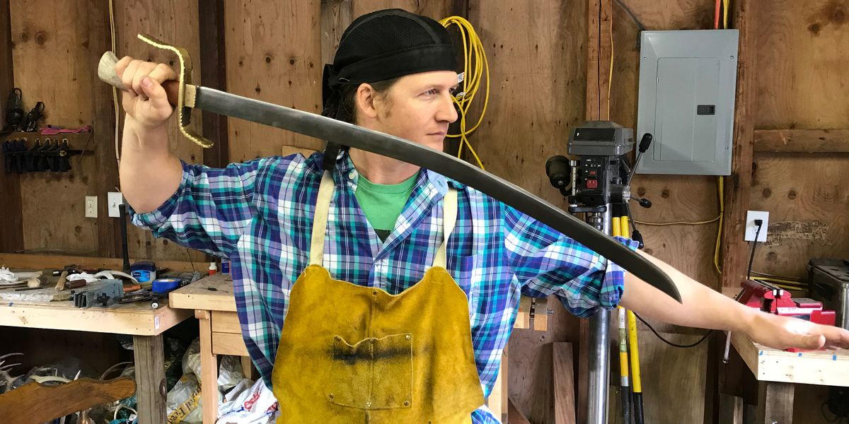 Gautier man wins History Channel bladesmith competition
