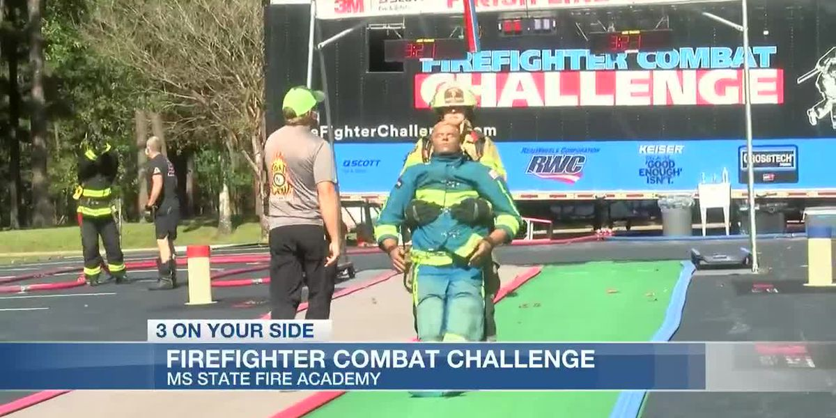 Firefighter Combat Challenge puts Miss. first responders to the test