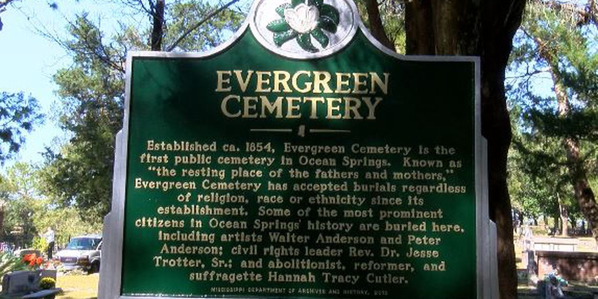 Evergreen Cemetery in Ocean Springs finally deemed an historical site