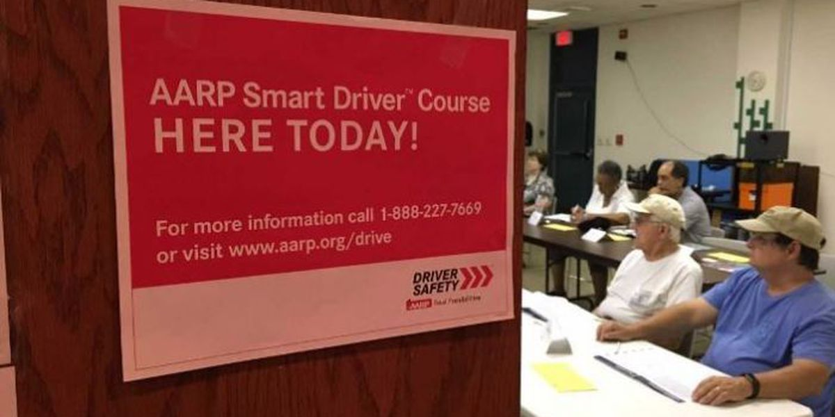 Seniors sharpen their driving skills