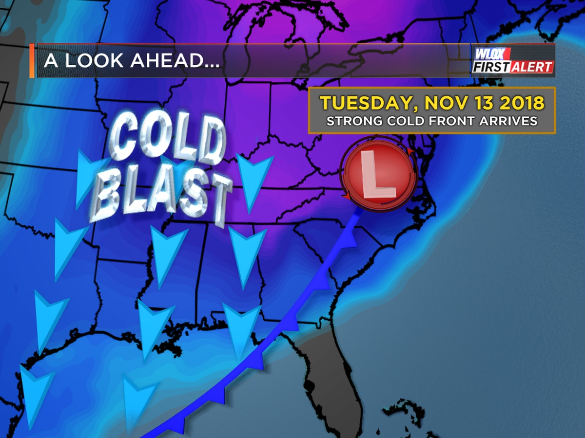 Strong cold front next week. Frost possible?