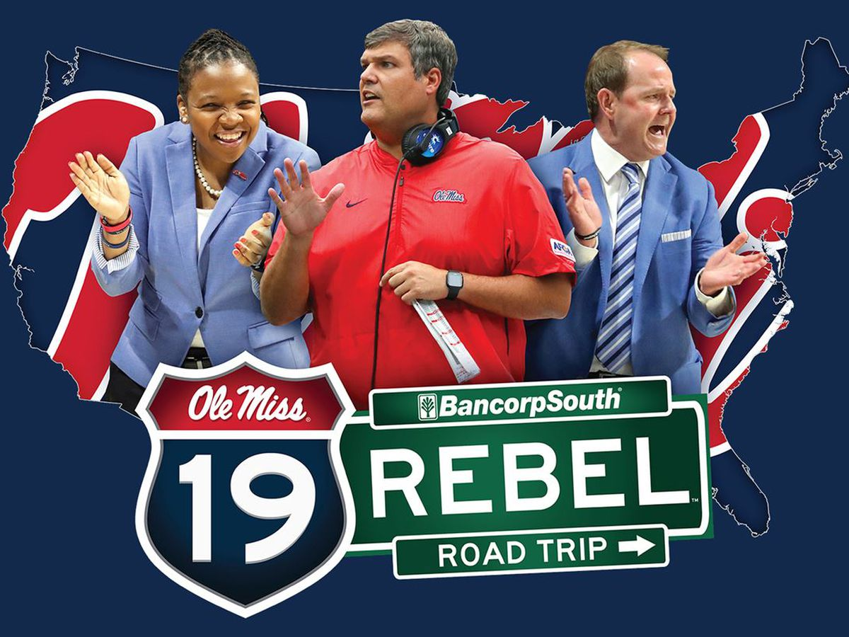HAPPENING TODAY: Ole Miss Rebel Road Trip heads to Ocean Springs