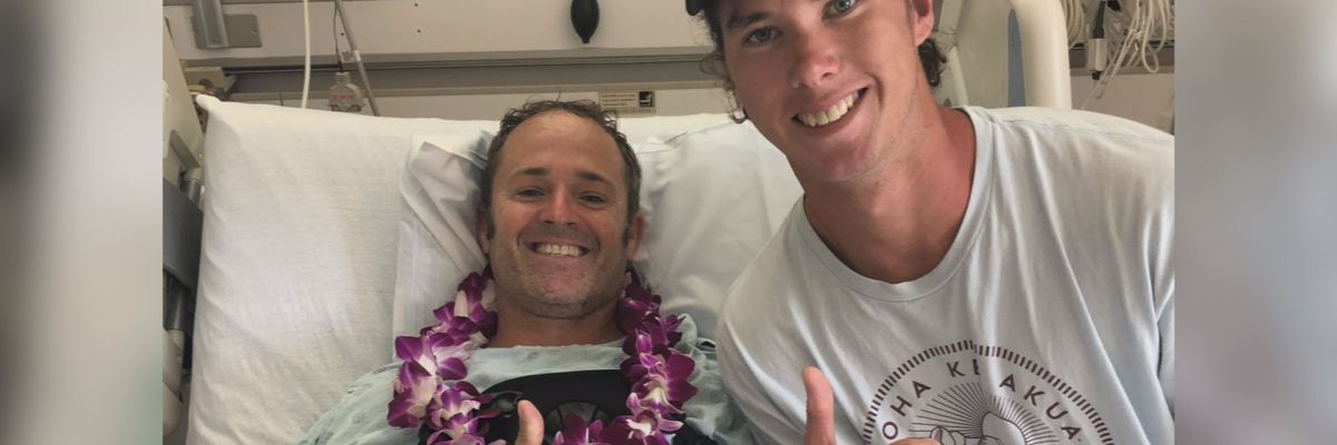 Gulfport native saves pilot's life after military exercise in Hawaii goes awry