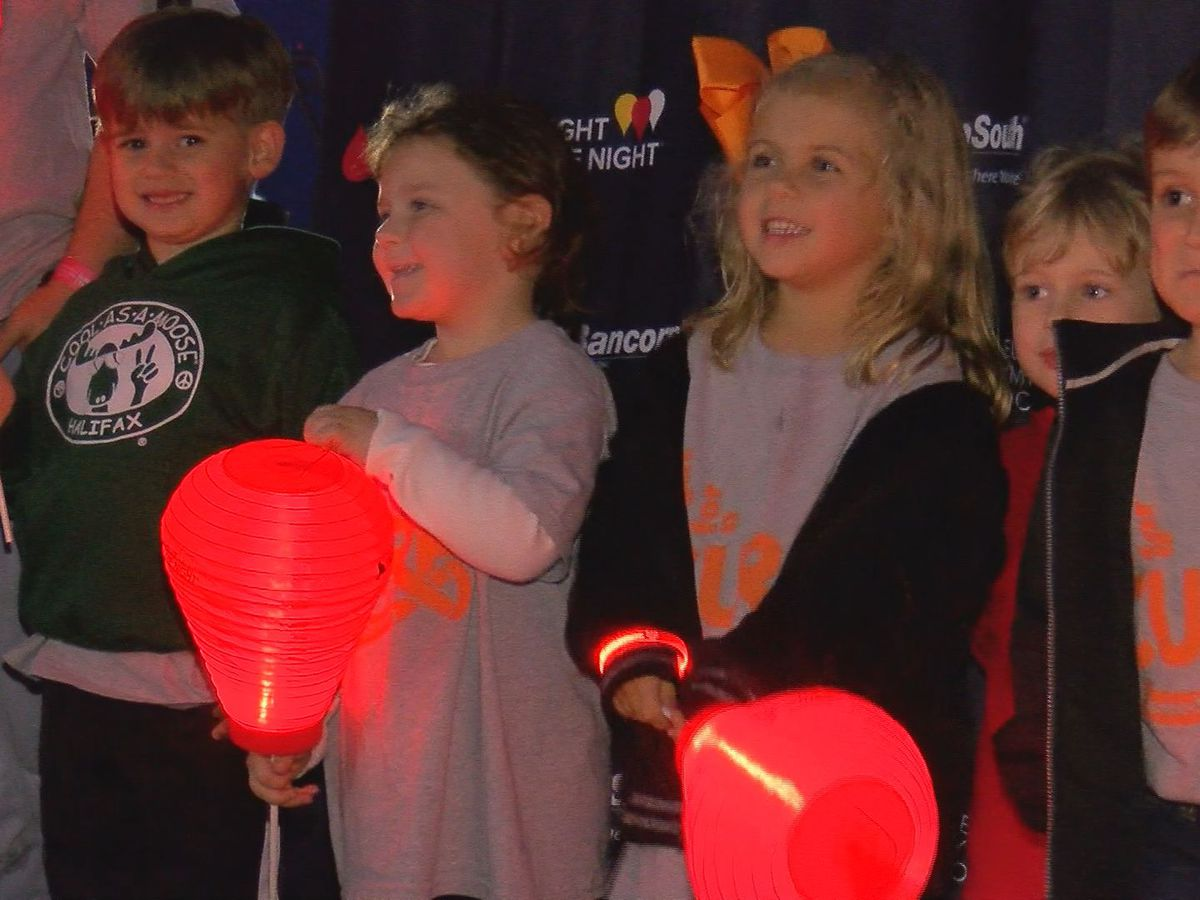 Hundreds Light the Night at Jones Park for blood cancer cure