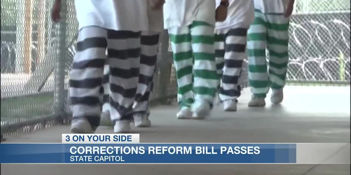 Corrections reform bill passes