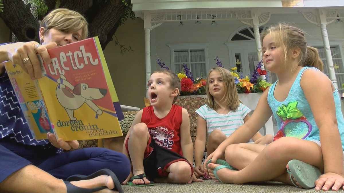 Free reading program in Hancock County inspires young children to read
