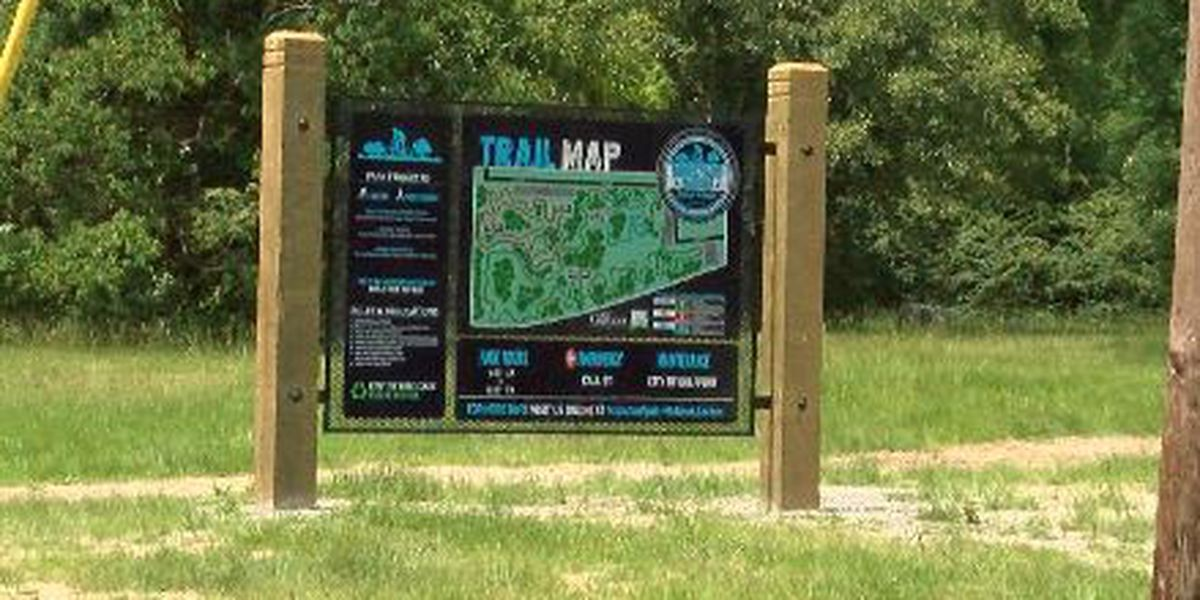 Brickyard Bayou Bike Park overgrown and not fully ready for ribbon cutting
