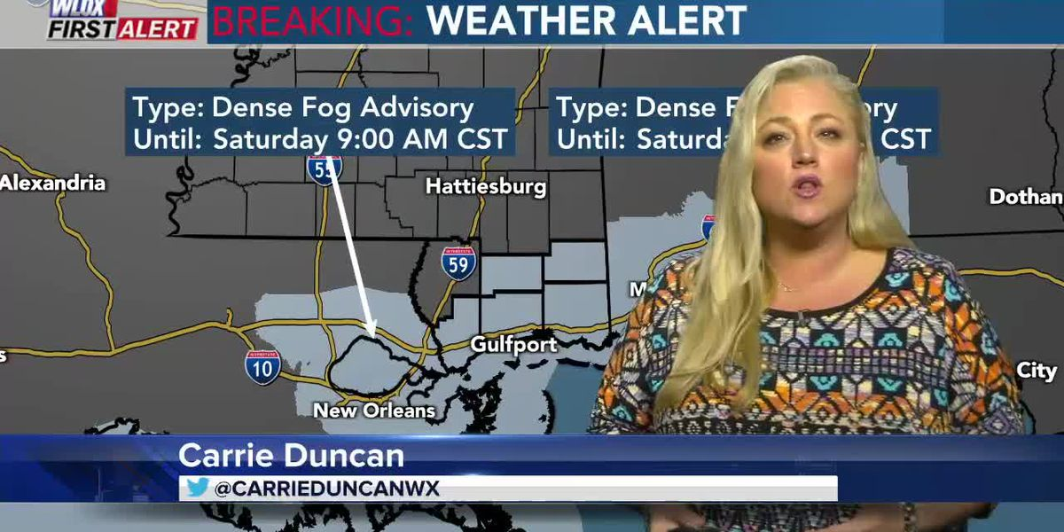 Carrie's 4 PM First Alert Forecast