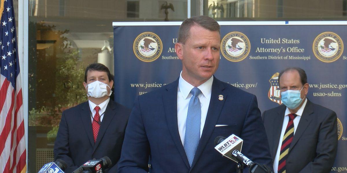 U.S. Attorney Mike Hurst announces his resignation
