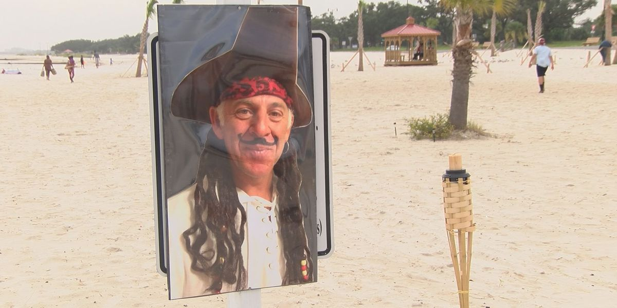 Friends remember salon owner with 'Pirate's Farewell'