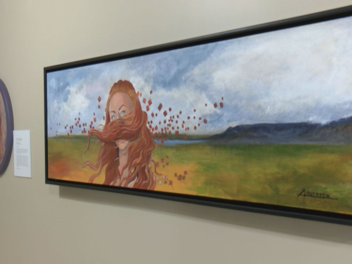 Gulfport Art Center showcasing COVID-19 inspired art