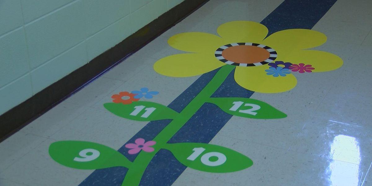 Senior Girl Scout installs autism sensory path at Bayou View Elementary