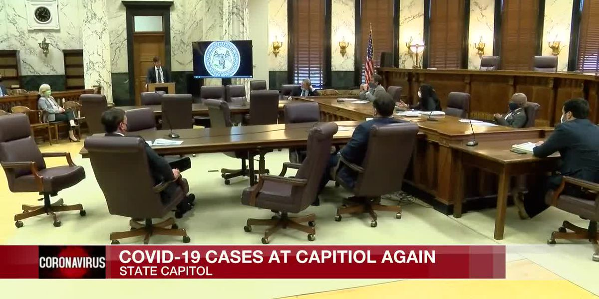 'A couple' of COVID-19 cases confirmed at the Mississippi State Capitol again