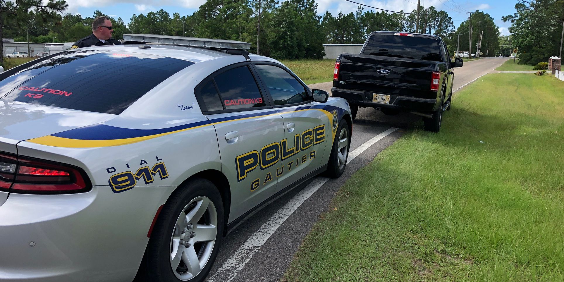Gautier police investigating body found in the woods