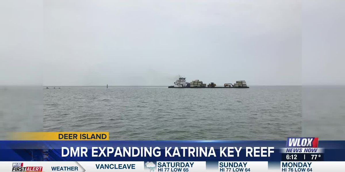 DMR urges boaters to take caution around Katrina Key