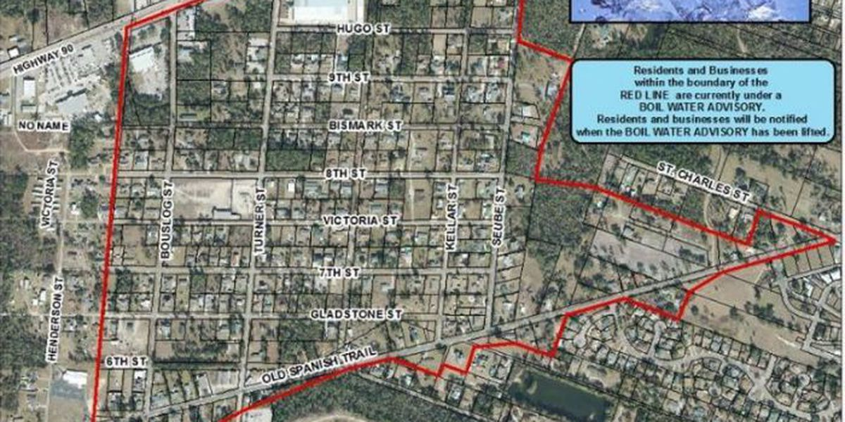 Boil water advisory issued for parts of Bay St. Louis