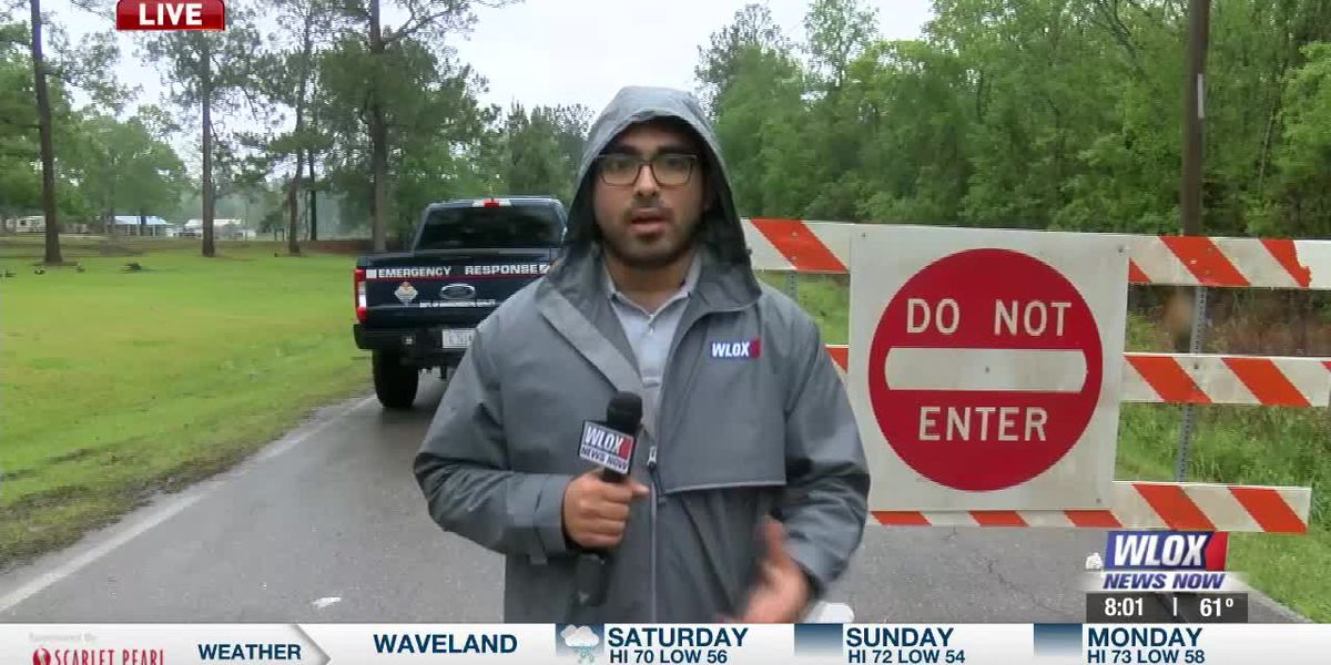 LIVE REPORT: Officials monitoring rising water levels in Stone County