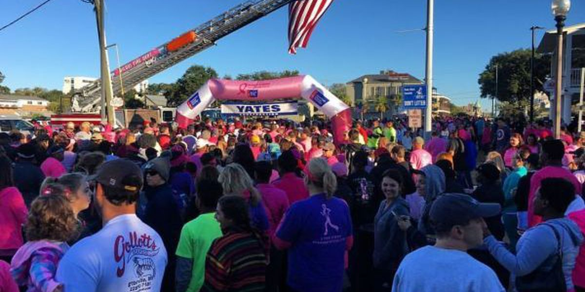 Thousands make strides against breast cancer in Biloxi