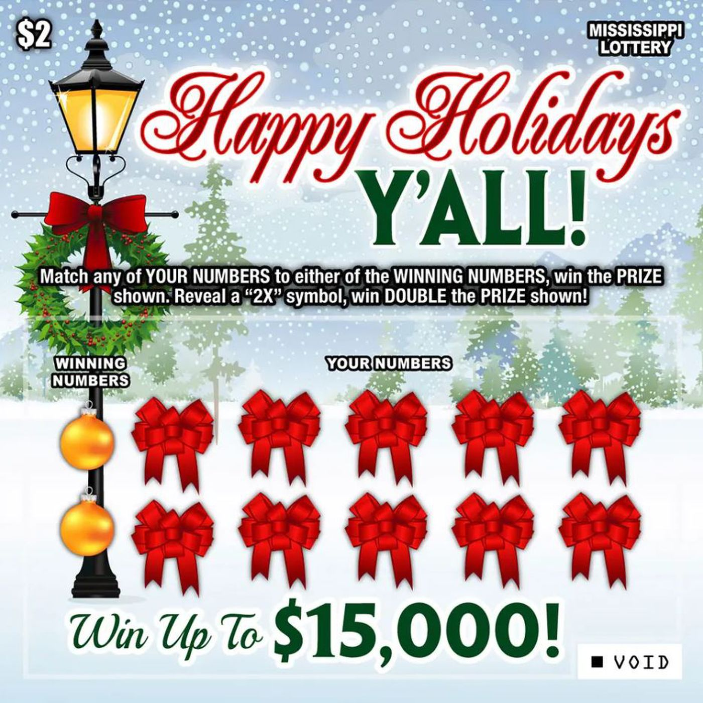 Lottery Tickets Now On Sale Across Mississippi Here S What You